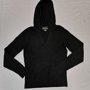 INC International Concepts | Black Cashmere Hoodie
